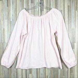 Chaser | M Long Sleeve Ruffle Shirt